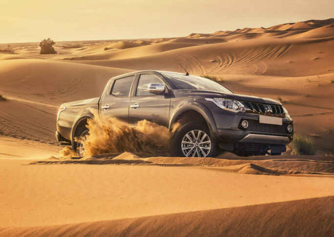 L200 Barbarian In Sand Dunes Amazon Green